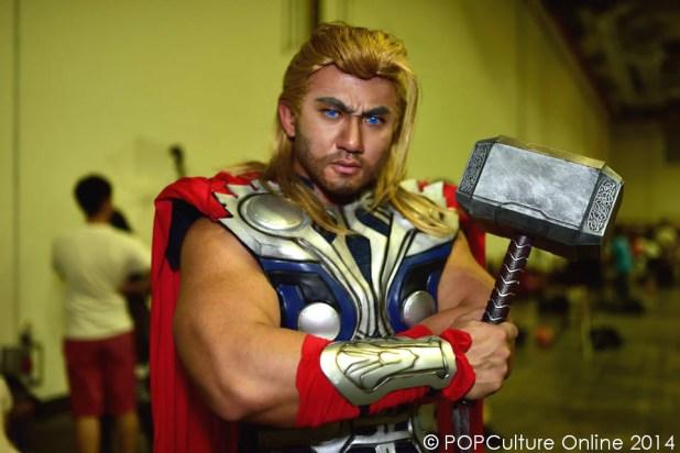 STGCC 2014 Cosplay Marvel Thor