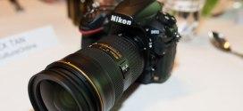 Nikon D810 Front View