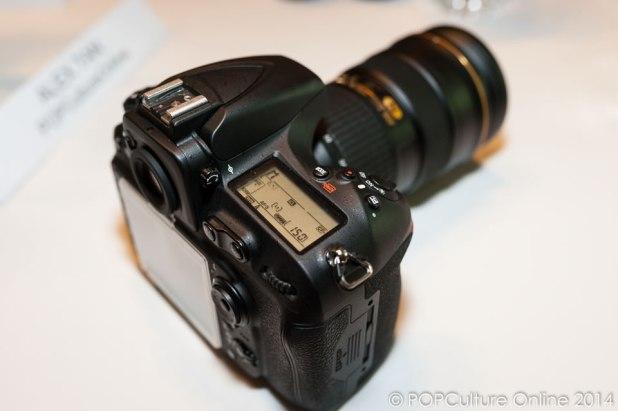 Nikon D810 Top View