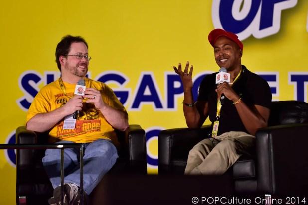 STGCC 2014 Hot Stage Comics Panel 01