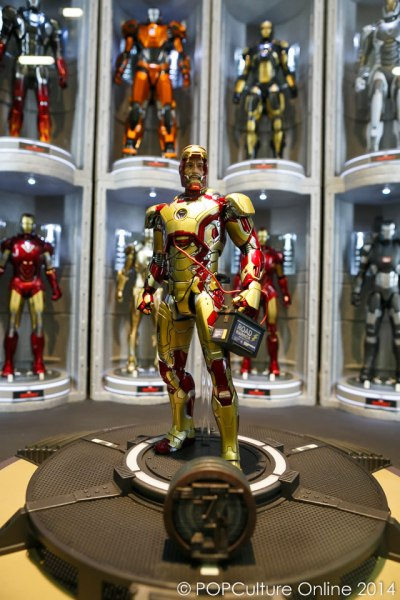 STGCC 2014 Hot Toys Iron Man Hall of Armours