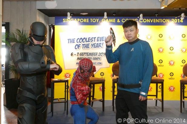 STGCC 2014 Media Preview Reno Tan Movie Mania Singapore
