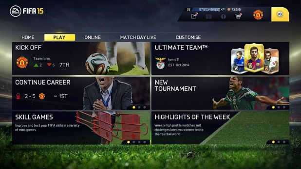 Fifa 15 ps4 review screen shot 01