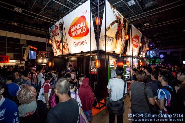GameStart 2014 - Bandai Namco Booth