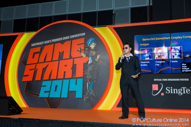GameStart 2014 Game On Cosplay Competition The Neo Tokyo Project Crimson