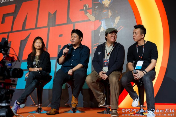 GameStart 2014 Joining the game industry in Singapore Lan Gregory, Alex Lim, Gwen Guo and Zander Liang