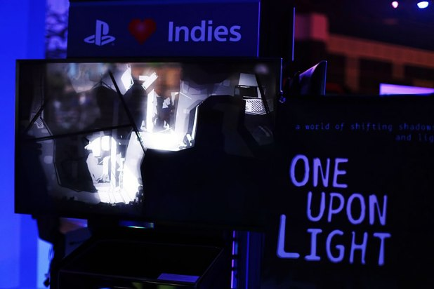 GameStart 2014 Sony Playstation Booth One Upon Light