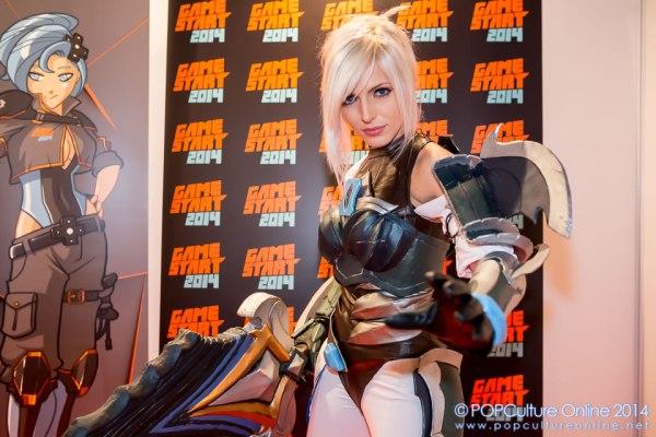 GameStart 2014 Yasemin Arslan Vera Chimera Cosplay Championship Riven from League of Legends 01