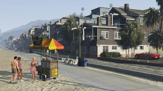 Grand Theft Auto PS4 Play Through Screen Shot 02