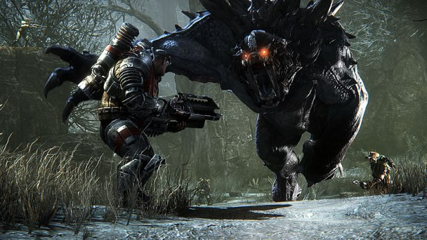 Evolve PC Review Assualt vs Monster Goliath Screen Shot