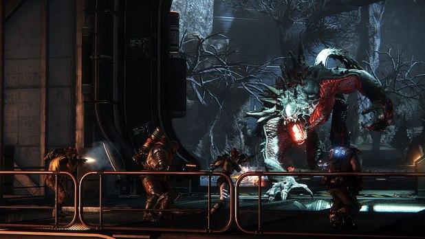 Evolve PC Review Huntes vs Monster Screen Shot