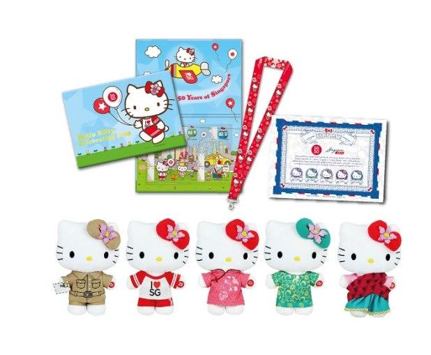 SingPost SG50 Hello Kitty Limited Edition Bundle Set