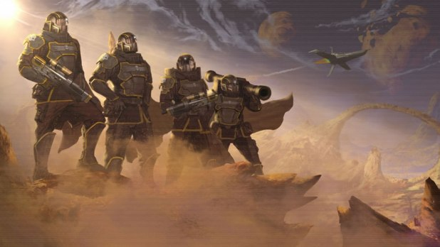 Helldivers PS4 Review Screen Shot 01