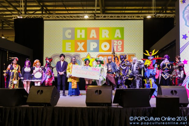 CharaExpo 2015 Entertainment Stage CharaExpo 2015 Cos☆Stage