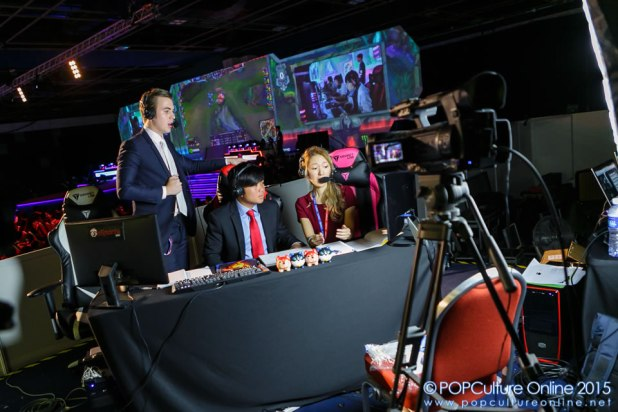 Garena Carnival 2015 Production Area Commentators