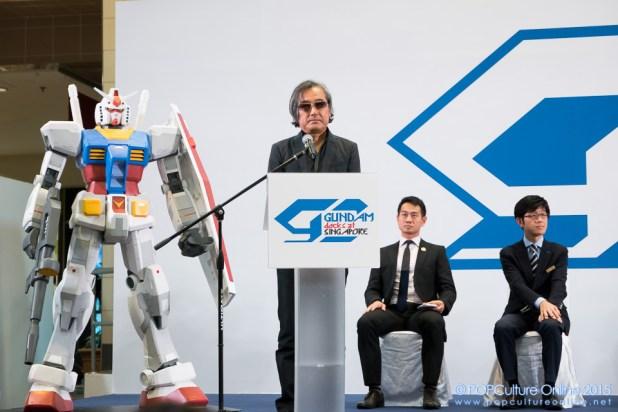 Gundam Docks Singapore Official Opening Nee Ann City Takashimaya Basement 2 Kunio Okawara (1)