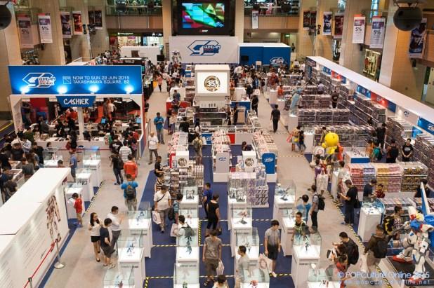 Gundam Docks at Singapore Nee Ann City (25)