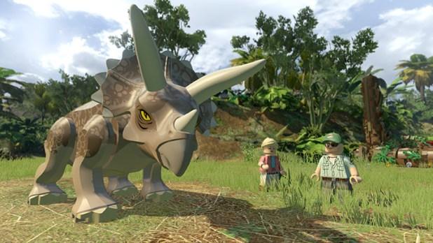 Lego Jurassic World Screen Shot 01