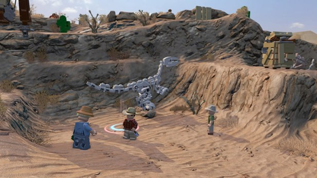 Lego Jurassic World Screen Shot 02
