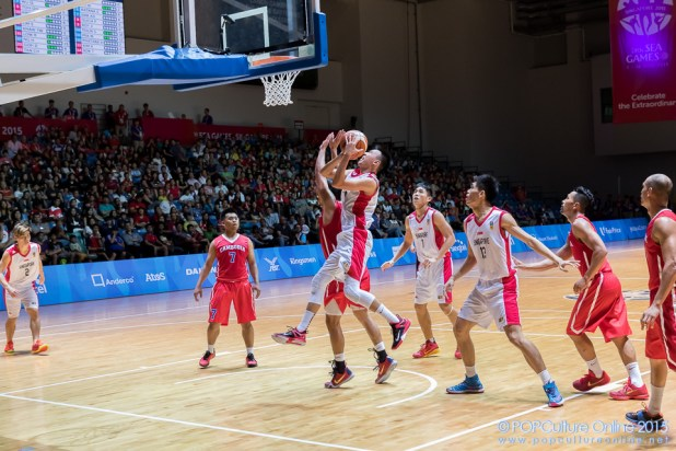SEA Games 2015 Basketball Men Preliminary Round Group B Game 9 OCBC Arena Hall 1