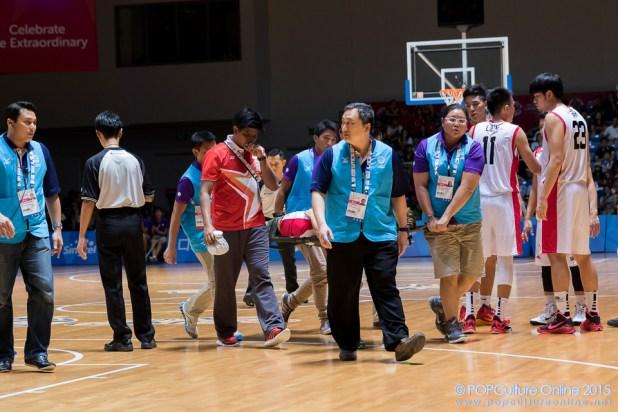 SEA Games 2015 Basketball Men Semi Final Singapore vs Indonesia