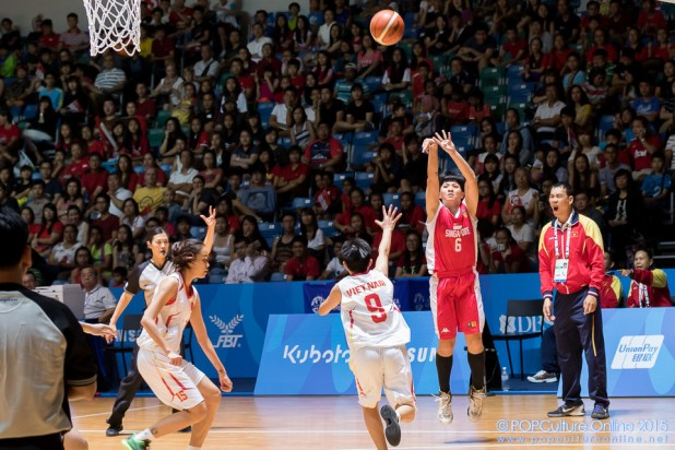 SEA Games 2015 OCBC Arena Hall 1 Vietnam vs Singapore