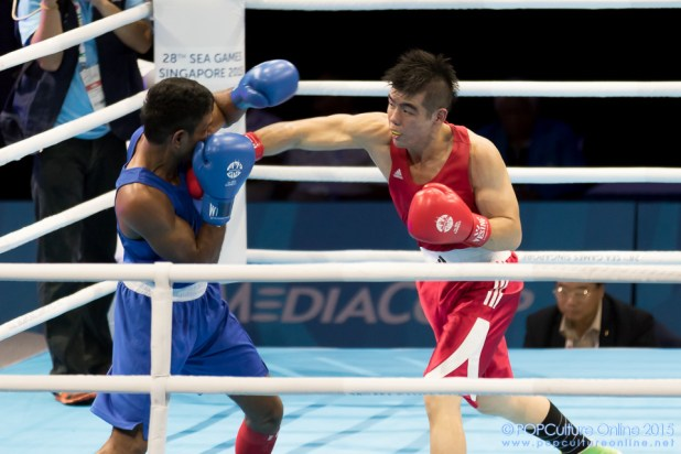 SEA Games 2015 Singapore Expo Boxing Tay Jia Wei Borges Pereira Henrique Martins (4)