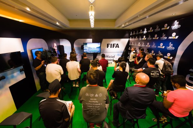 FIFA 16 Hands On Preview Event Producer Matt Prior 01