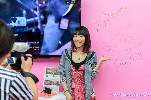 LiSA in Sony Store Always (13)