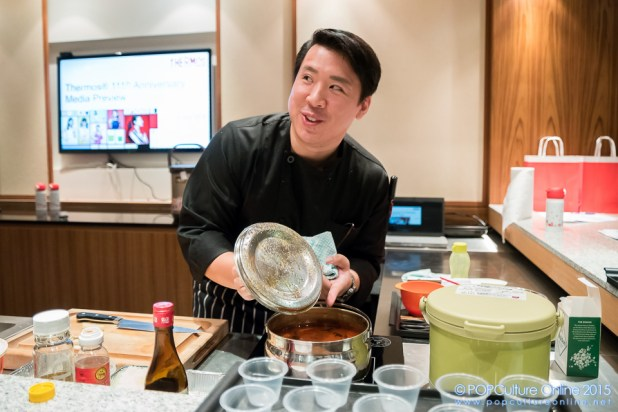 Cook Off with Le Cordon Bleu Chef Quek Jee Shan using Therms Shuttle Chef