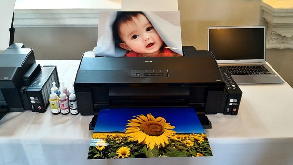 The Epson L1800 L-Series A3+ Ink Tank Photo Printer