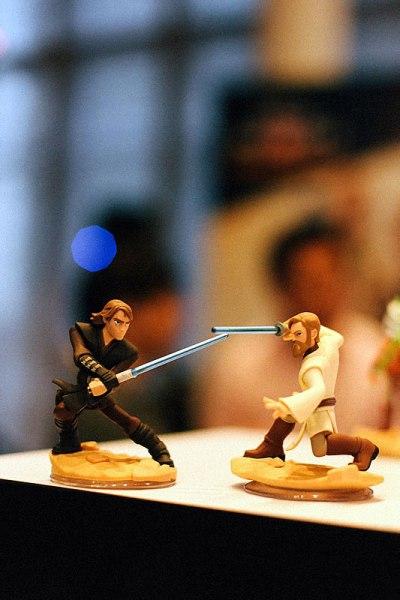 Disney Infinity 3.0 Star Wars obi wan kenobi anakin skywalker