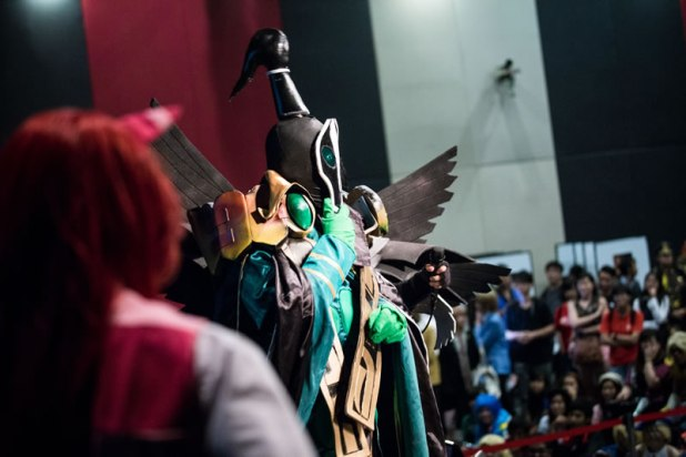 ICDS 2015 Cosplay Performances on Stage