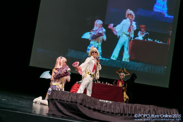 ICDS 2015 Singapore Annual Cosplay Chess Performance Angelic Buster Ringabel