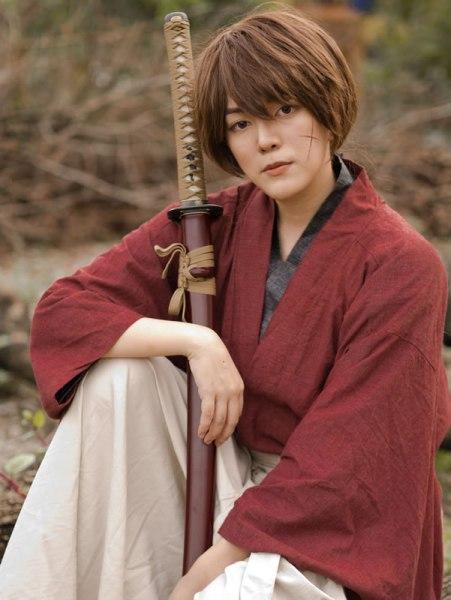Jin (behindinfinity) Cosplay Kenshin Himura Rurouni Kenshin ICDS 2015