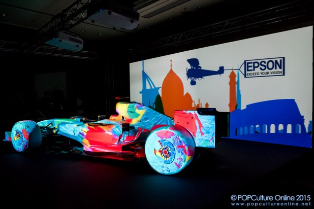 Epson EB-Z Series Projectors Projection Mapping Display Formula One Car (8)