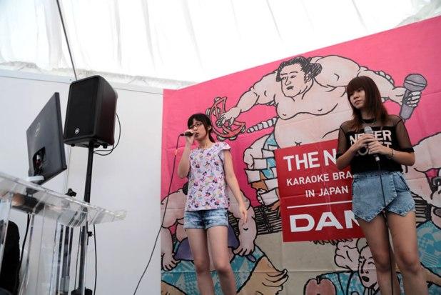 MOSHI MOSHI NIPPON FESTIVAL 2015 in Singapore  - LIVE DAM booth