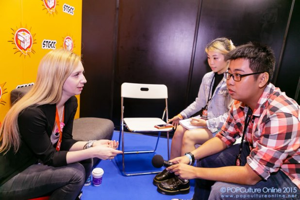 STGCC 2015 Agnes Garbowska Interview 2