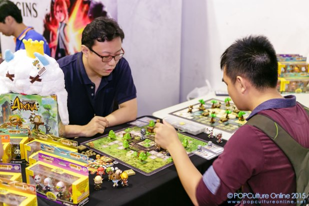 STGCC 2015 Krosmaster Arena Anime Miniatures Board Game