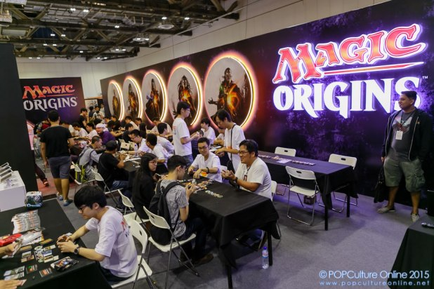 STGCC 2015 Magic the Gathering Booth 01