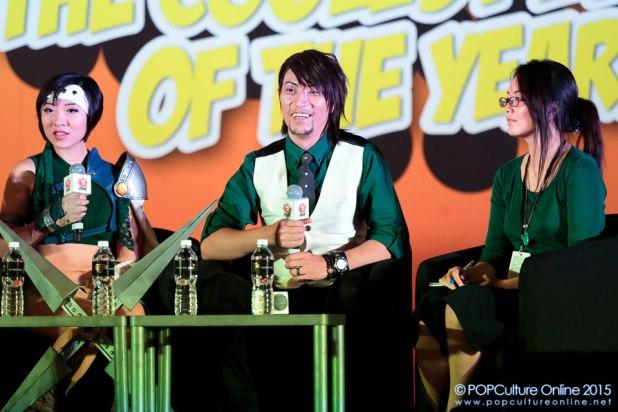 STGCC 2015 Stage East Meets West Cosplay Panel Stella Chuu Tadaaki Jacky Dosai