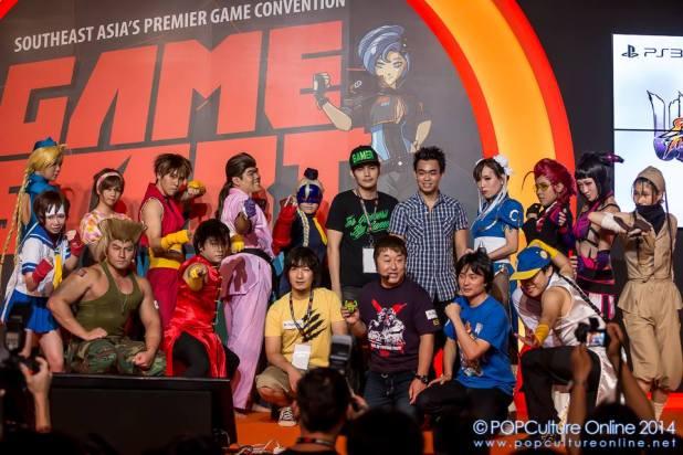 GameStart 2014 Street Fighter Cosplay Stage