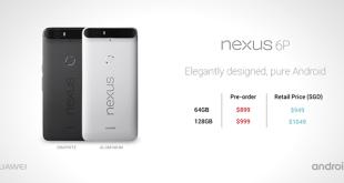 Huawei Singapore Nexus 6P Facebook Page Image