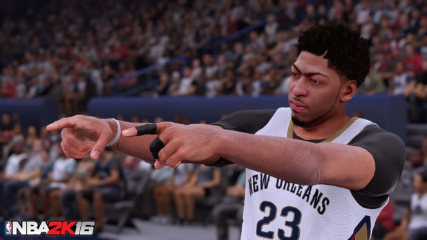 NBA 2K16 Review Davis
