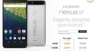 Pre-Order Huawei Nexus 6P Lazada