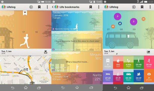 Sony Smartband 2 App Lifelog