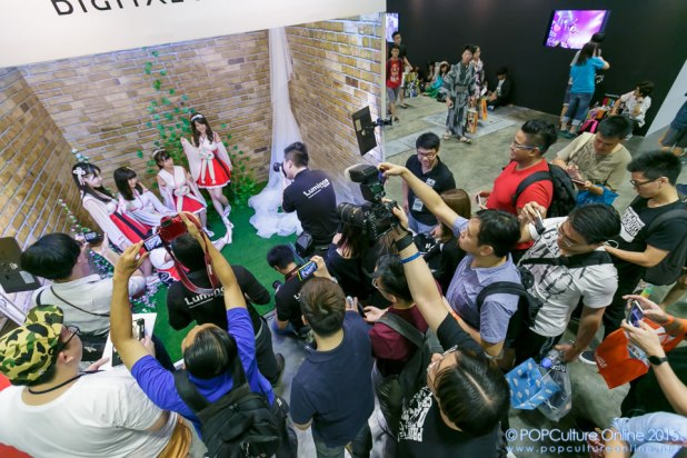 Anime Festival Asia Singapore AFASG 2015 Canon Photography Booth Nijicon Niji no Conquistador