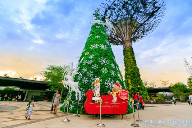 Christmas Wonderland Gardens by the Bay 2015 Visitor Centre Christmas Tree