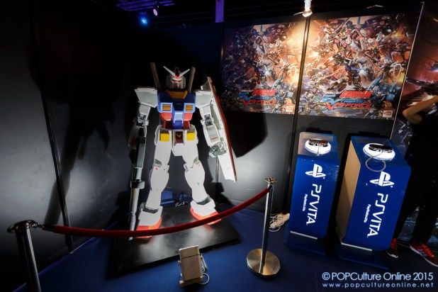 GameStart 2015 Bandai Namco Entertainment Asia Booth Gundam