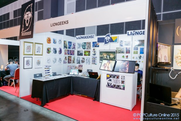 GameStart 2015 Liongeeks Booth